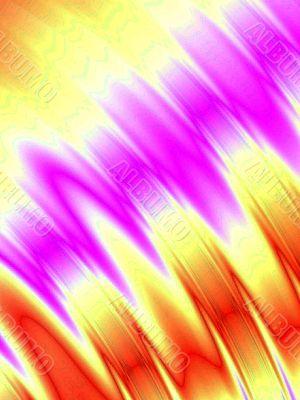Colored ripple