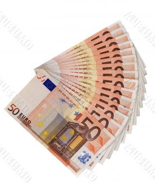 Saving money Euro