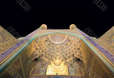 Imam Mosque at night, Isfahan, Iran