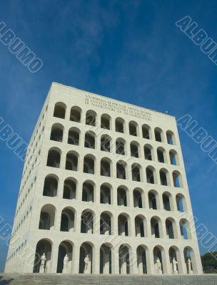 Square coliseum in Eur, Rome