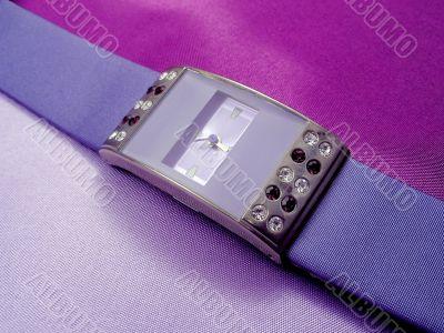 Lilac wrist-watch lilac