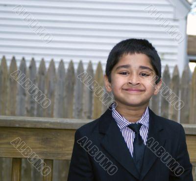 Cute kid Formally Dressed