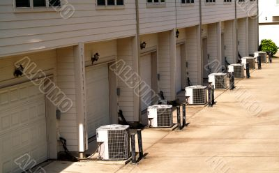 town houses with air conditioning
