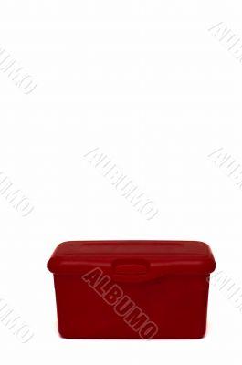 Red diaper box