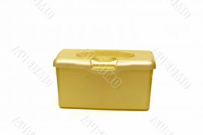 Yellow diaper box