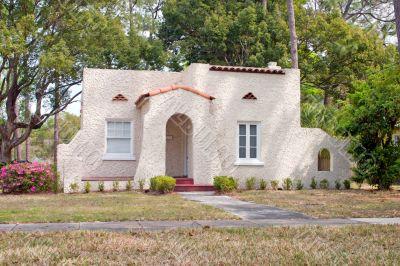 spanish style Florida home