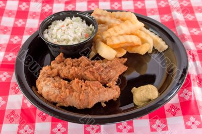 chicken fingers picnic lunch