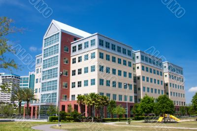 modern design coastal office building