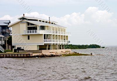 yellow waterfront condos