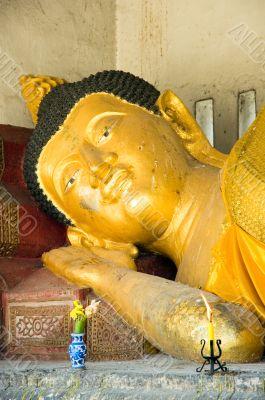 Declining buddha, Chiang Mai, Thailand