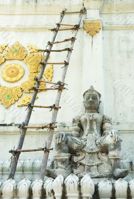 Statue of Buddha, Chiang Mai, Thailand