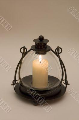 retro candlestick
