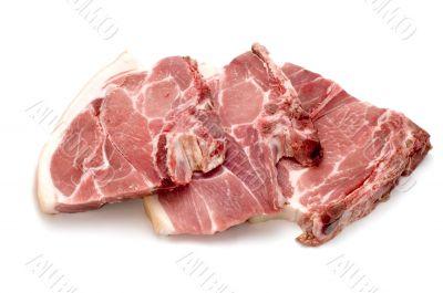 Three pork chop