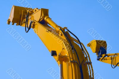 Excavator arms