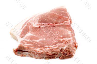 One pork chop