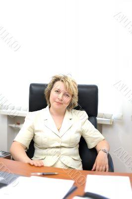Mid-life business woman look at camera #2