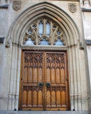 Large Ornate Church Doors