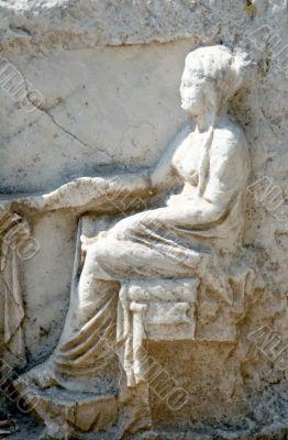 Fragment of antic art