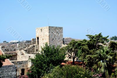 Castle of Saint Peter. Museum underwater archaeology in Bodrum
