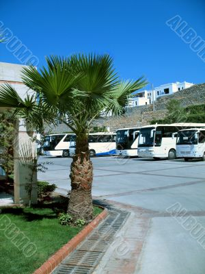 Turkey resort. Coaches