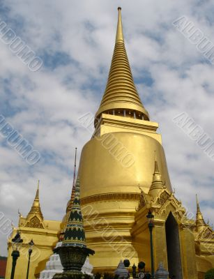 Golden Stupa - Grand Palace - Bangkok