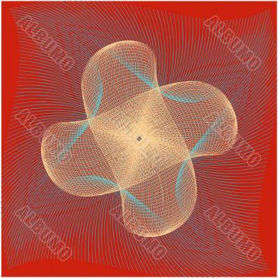 wavy grid pattern 2