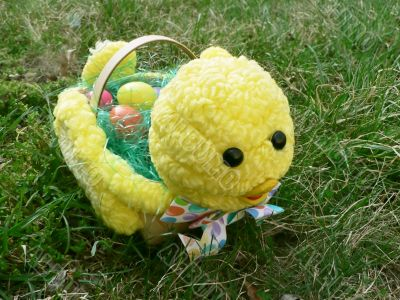 baby chick easter basket 4