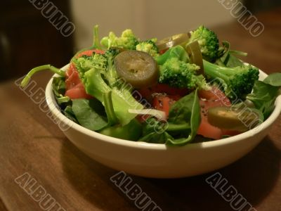 salad in a bowl 2