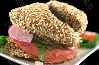 Wholegrain Salad Roll 5