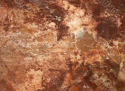 old pink wall - perfect grunge background
