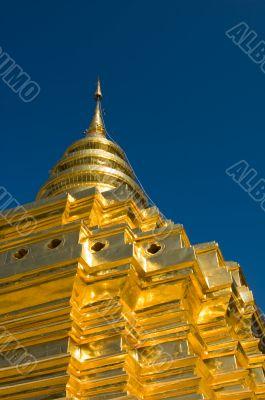Golden stupa