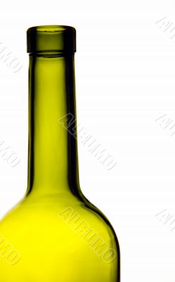 green bottle neck