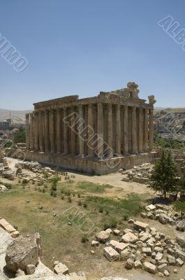 Bachus Temple, Baalbeck, Lebanon