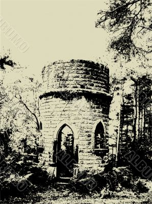Grunge ruins