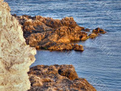 sea coast. The western Crimea.