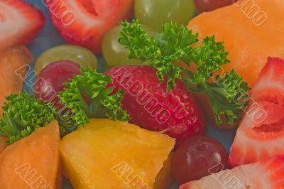 macro fruit medley