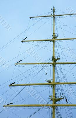 mast of frigate