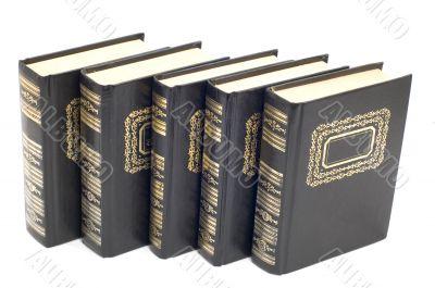 bound books