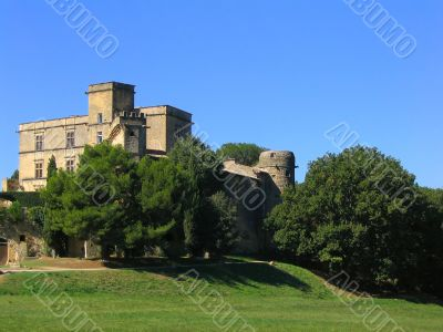 Lourmarin Castle in Provence