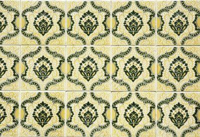 old tiles background
