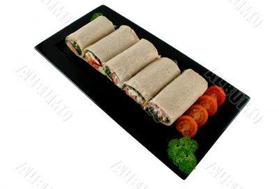 Mixed Wrap Platter 1