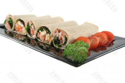 Mixed Wrap Platter 7