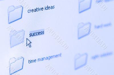 click at success