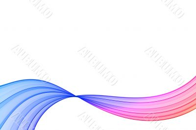 gradient ribbon