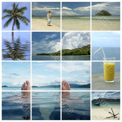 holiday dreams - tropical paradise