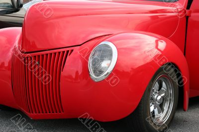 Custom Red Roadster