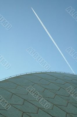 opera house in sydney abstract photo