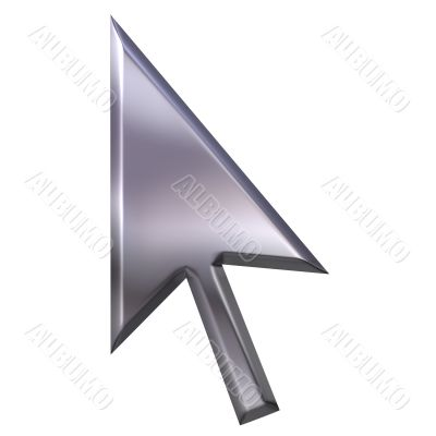 3D Silver Pointer