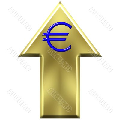 Euro Currency Increasing Value Concept