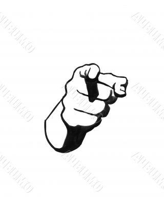 Finger sketch